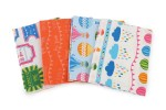 Craft Cotton Co - Hot Air Balloons - White - Fat Quarter Bundle (pack of 4)