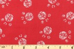 Craft Cotton Co - Cutzie Cats - Paw Prints (2522-05)