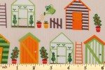 Craft Cotton Co - Vegetable Patch - Sheds (2573-05)
