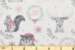 Craft Cotton Co - Christmas Prints - Woodland Christmas (2606-05)