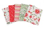 Craft Cotton Co - Merry and Bright - Fat Quarter Bundle (pack of 5)