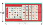 Craft Cotton Co - Christmas Panels - Home Sweet Home Advent Panel (2634-00)