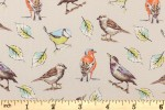 Craft Cotton Co - Garden Birds - Multi Birds (2655-01)