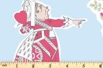 Craft Cotton Co - Alice in Wonderland - Queen of Hearts (2680-02)