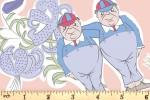 Craft Cotton Co - Alice in Wonderland - Tweedle Dum and Tweedle Dee (2680-03)