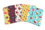 Craft Cotton Co - Happy Owls - Fat Quarter Bundle (pack of 5)