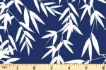 Craft Cotton Co - Kyoto - Bamboo Leaves - Navy (2707-04)