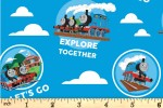 Craft Cotton Co - Thomas and Friends - Explore Together (2714-02)