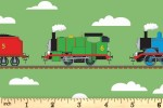 Craft Cotton Co - Thomas and Friends - Train Tracks (2714-03)
