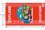 Craft Cotton Co - Thomas and Friends - Explore Together Panel (2714-06)