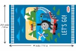 Craft Cotton Co - Thomas and Friends - Lets Go! Panel (2714-07)