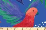 Craft Cotton Co - Birds of Paradise - Birds of Paradise - Royal (2753-01)