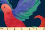 Craft Cotton Co - Birds of Paradise - Birds of Paradise - Navy (2753-06)