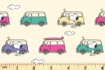 Craft Cotton Co - Snoopy and Woodstock's Adventure - Campervan Adventure (2809-01)