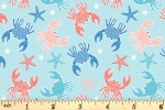 Craft Cotton Co - By the Coast - Littlle Crabs (2816-08)
