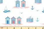 Craft Cotton Co - By the Coast - Beach Huts (2816-10)