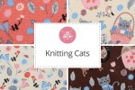 Craft Cotton Co - Knitting Cats Collection