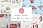 Craft Cotton Co - Peter Rabbit in London Collection