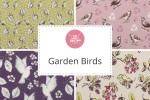Craft Cotton Co - Garden Birds Collection
