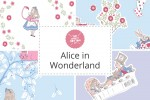 Craft Cotton Co - Alice in Wonderland Collection