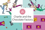 Craft Cotton Co - Charlie and the Chocolate Factory Collection