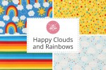 Craft Cotton Co - Happy Clouds and Rainbows Collection