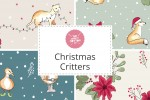 Craft Cotton Co - Christmas Critters Collection