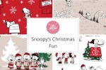 Craft Cotton Co - Snoopy's Christmas Fun Collection
