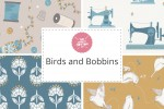 Craft Cotton Co - Birds and Bobbins Collection