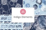 Craft Cotton Co - Indigo Elements Collection