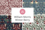 Craft Cotton Co - William Morris Winter Berry Collection