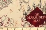 Craft Cotton Co - Harry Potter - The Marauders Map (93/4-06)