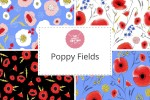 Craft Cotton Co - Poppy Fields Collection