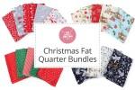 Craft Cotton Co - Christmas Fat Quarter Bundles
