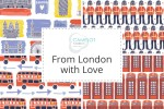 Camelot Fabrics - From London with Love Collection