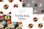 Camelot Fabrics - The Big Bang Theory Collection