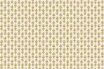 Cotton + Steel - Camont - Flourish - Cream with Gold Metallic (304090-42)
