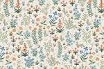 Cotton + Steel - Camont - Flower Meadow - Cream (304090-8)