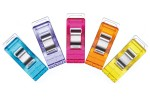 Clover Wonder Clips, Standard, Assorted Colours (pack of 50)