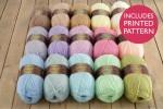Attic24 - Cupcake Blanket (Stylecraft Yarn Pack)
