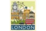My Cross Stitch - Cityscapes - London (Cross Stitch Kit)