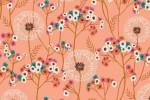Dashwood - Aviary - Dandelions - Pink (AVIA1725)