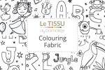 Le Tissu by Domotex - Colouring Fabric Collection