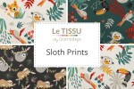 Le Tissu by Domotex - Sloth Prints Collection
