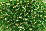 Debbie Abrahams Glass Seed/Rocaille Beads, Green (49) - Size 6, 4mm