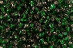Debbie Abrahams Glass Seed/Rocaille Beads, Emerald (52) - Size 6, 4mm