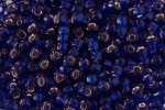 Debbie Abrahams Glass Seed/Rocaille Beads, Indigo (44) - Size 8, 3mm