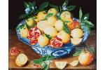 Diamond Dotz - Hulzdonck - Still Life with Lemons (Diamond Painting Kit)