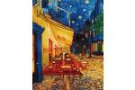 Diamond Dotz - Van Gogh - Café at Night (Diamond Painting Kit)