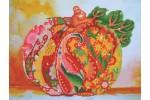 Diamond Dotz - Autumn Pumpkin Rose Sparkle (Diamond Painting Kit)